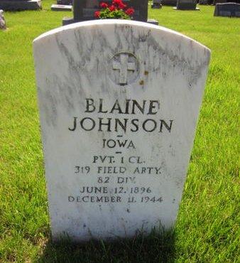 JOHNSON, BLAINE - Clayton County, Iowa | BLAINE JOHNSON