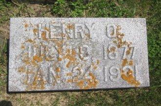 JOHNSON, HENRY O. - Clayton County, Iowa | HENRY O. JOHNSON