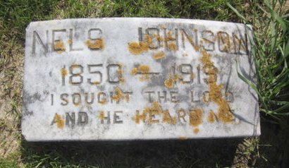 JOHNSON, NELS - Clayton County, Iowa   NELS JOHNSON