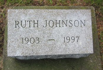 JOHNSON, RUTH - Clayton County, Iowa | RUTH JOHNSON