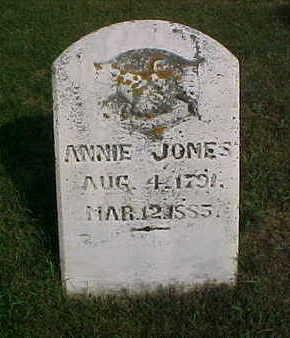 JOMES, ANNIE - Clayton County, Iowa | ANNIE JOMES