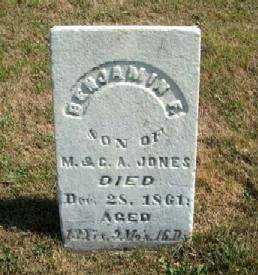 JONES, BENJAMIN F. - Clayton County, Iowa | BENJAMIN F. JONES