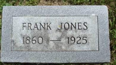 JONES, FRANK - Clayton County, Iowa   FRANK JONES