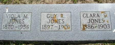 JONES, VIOLA M. - Clayton County, Iowa | VIOLA M. JONES