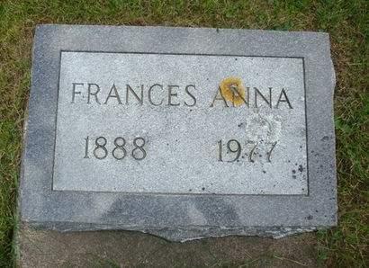 KADLEC, FRANCES ANNA - Clayton County, Iowa | FRANCES ANNA KADLEC