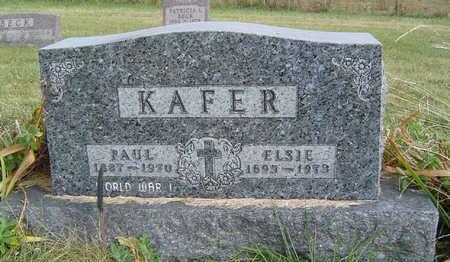 KAFER, ELSIE - Clayton County, Iowa | ELSIE KAFER