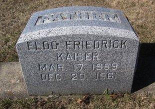 KAISER, ELDO FRIEDRICK - Clayton County, Iowa   ELDO FRIEDRICK KAISER