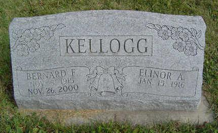 KELLOGG, BERNARD F. - Clayton County, Iowa | BERNARD F. KELLOGG