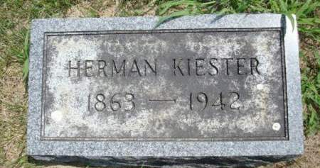 KIESTER, HERMAN - Clayton County, Iowa | HERMAN KIESTER