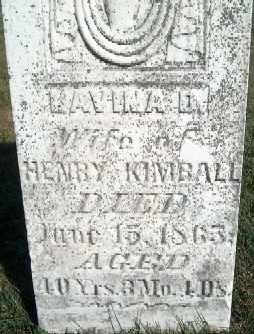KIMBALL, LAVINA D. - Clayton County, Iowa | LAVINA D. KIMBALL