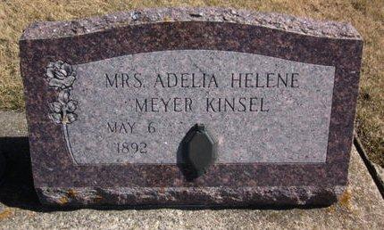 MEYER KINSEL, ADELIA HELENE - Clayton County, Iowa | ADELIA HELENE MEYER KINSEL
