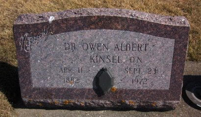 KINSEL, OWEN ALBERT - Clayton County, Iowa | OWEN ALBERT KINSEL