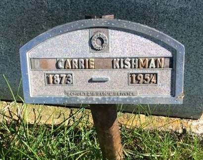 KISHMAN, CARRIE - Clayton County, Iowa   CARRIE KISHMAN
