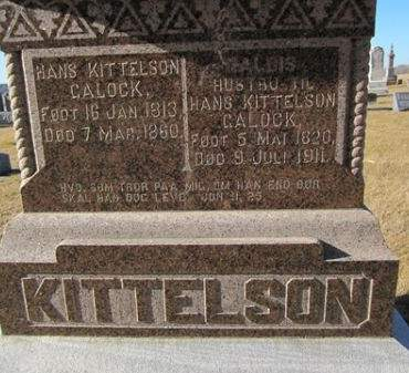 KITTELSON, HALDIS - Clayton County, Iowa | HALDIS KITTELSON