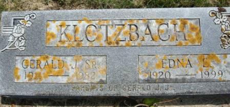 KLOTZBACH, GERALD J. SR. - Clayton County, Iowa | GERALD J. SR. KLOTZBACH