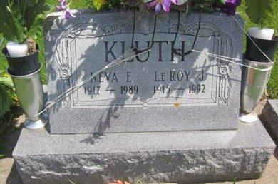 KLUTH, LEROY J. - Clayton County, Iowa   LEROY J. KLUTH