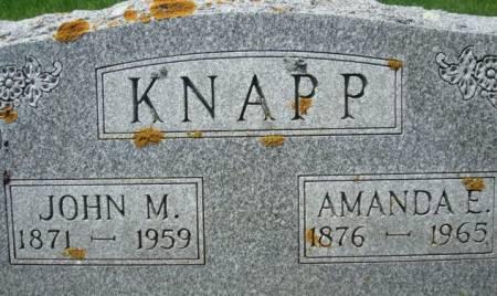 KNAPP, JOHN M. - Clayton County, Iowa | JOHN M. KNAPP