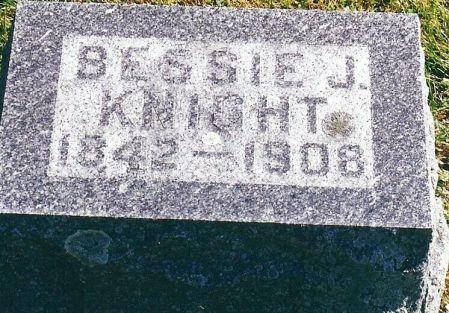 GILBERT KNIGHT, BESSIE J.