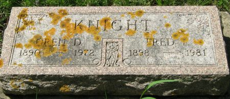 KNIGHT, FRED LEWIS - Clayton County, Iowa   FRED LEWIS KNIGHT