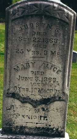 KNIGHT, MARY ALICE - Clayton County, Iowa   MARY ALICE KNIGHT