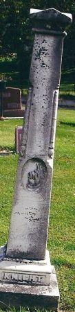 KNIGHT, SAMUEL HUTCHENS - Clayton County, Iowa   SAMUEL HUTCHENS KNIGHT
