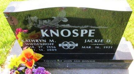 KNOSPE, JACKIE D. - Clayton County, Iowa | JACKIE D. KNOSPE