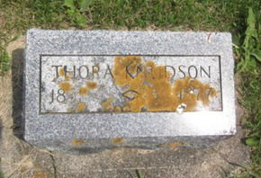 KNUDSON, THORA - Clayton County, Iowa | THORA KNUDSON