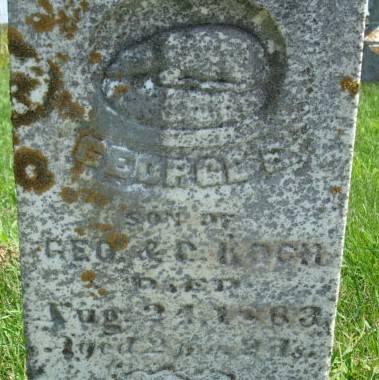 KOCH, GEORGE E. - Clayton County, Iowa | GEORGE E. KOCH