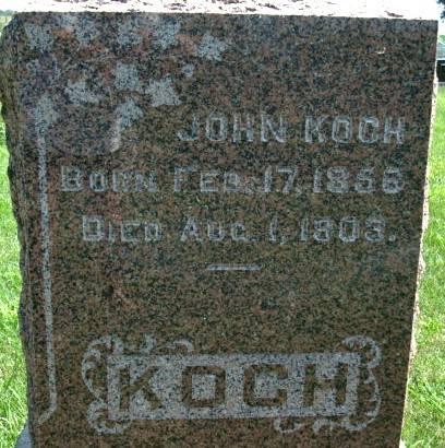 KOCH, JOHN - Clayton County, Iowa | JOHN KOCH