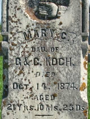 KOCH, MARY C. - Clayton County, Iowa | MARY C. KOCH