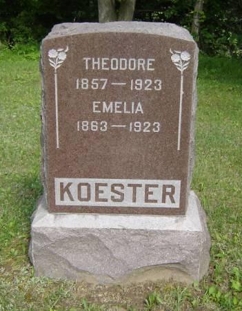 KOESTER, THEODORE - Clayton County, Iowa   THEODORE KOESTER