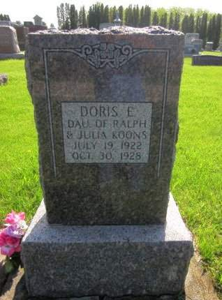 KOONS, DORIS E. - Clayton County, Iowa | DORIS E. KOONS