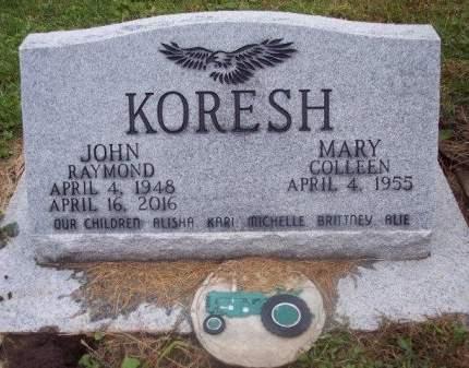 KORESH, MARY COLLEEN - Clayton County, Iowa | MARY COLLEEN KORESH