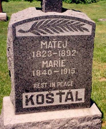 KOSTAL, MARIE - Clayton County, Iowa | MARIE KOSTAL