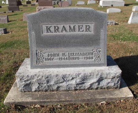 KRAMER, ELIZABETH - Clayton County, Iowa   ELIZABETH KRAMER