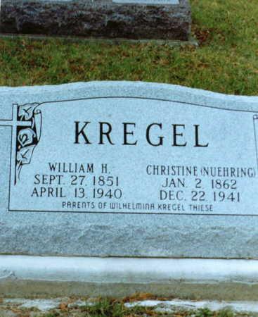 NUEHRING KREGEL, CHRISTINE - Clayton County, Iowa | CHRISTINE NUEHRING KREGEL