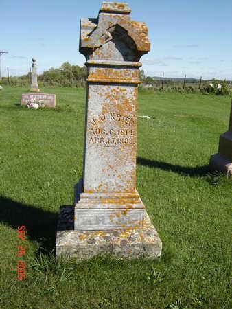 KRIEG, JOHN JACOB - Clayton County, Iowa | JOHN JACOB KRIEG