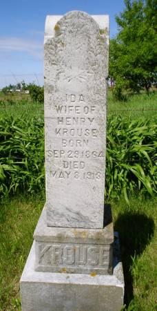 KROUSE, IDA - Clayton County, Iowa | IDA KROUSE