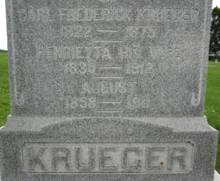 KRUEGER, CARL FREDERICK - Clayton County, Iowa | CARL FREDERICK KRUEGER