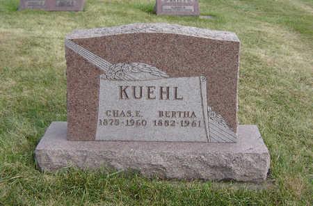 KUEHL, BERTHA - Clayton County, Iowa   BERTHA KUEHL