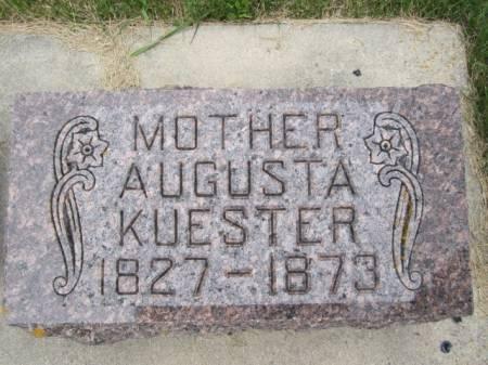 KUESTER, AUGUSTA - Clayton County, Iowa | AUGUSTA KUESTER