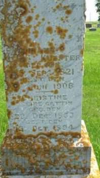 KUESTER, FERDINAND - Clayton County, Iowa   FERDINAND KUESTER
