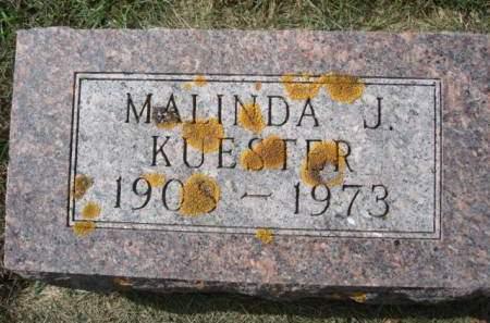 KUESTER, MALINDA J. - Clayton County, Iowa | MALINDA J. KUESTER