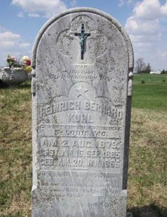 KUHL, HEINRICH BERNARD - Clayton County, Iowa | HEINRICH BERNARD KUHL