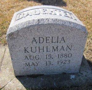 KUHLMAN, ADELIA - Clayton County, Iowa | ADELIA KUHLMAN