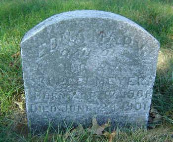 KURRELMEYER, EDNA MARY - Clayton County, Iowa | EDNA MARY KURRELMEYER