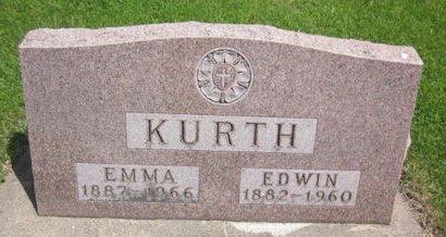 KURTH, EMMA - Clayton County, Iowa   EMMA KURTH