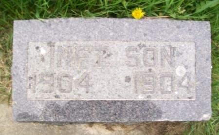 KURTH, INFANT SON - Clayton County, Iowa | INFANT SON KURTH