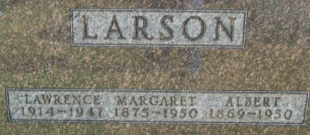 LARSON, MARGARET - Clayton County, Iowa | MARGARET LARSON