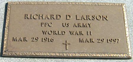 LARSON, RICHARD D. - Clayton County, Iowa | RICHARD D. LARSON